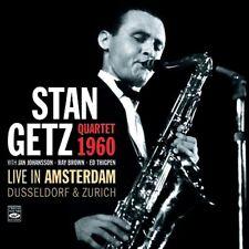 Stan Getz QUARTET 1960  LIVE IN AMSTERDAM, DUSSELDORF & ZURICH