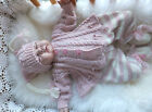 KNITTING PATTERN TO MAKE *DAWN'S ANGEL* COAT, LEGGINS & HAT FOR BABY/REBORN DOLL