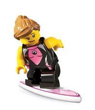LEGO Surfer Girl Minifigure 8804 Series 4 New Sealed