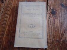 RARE LITTERATURE - CORRESPONDANCE INEDITE HENRI HEINE 1867 TOME 1 POETE POESIE