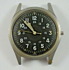 Vintage FEB 1967 Benrus US Military Wrist Watch DTU-2A/P MIL-W-3818B lot.e