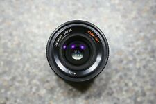 Rollei Distagon 2.8/35 wide angle lens for QBM mount SLR camera