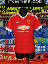 5/5 Manchester United youth 15-16 176 2015 football shirt jersey trikot soccer