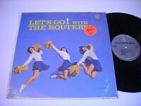 SHRINK Let's Go! with the Routers 1963 Mono LP VG++