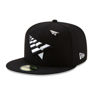 Roc Nation Paper Planes with Pin Authentic New Era 59Fifty Fitted Cap - Black