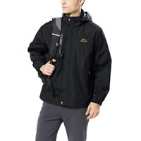Outdoor Thin Men's Windproof Coat Waterproof Hooded Casual Jacket Tops For Men
