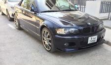 Sport Valance for BMW E46 M3 Front Bumper spoiler lip Chin splitter CSL M
