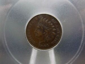 """1864-L Indian Head Cent 1c ICG VF30 """"L on Ribbon"""" East Coast Coin & Collectables"""