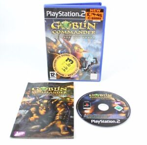 Goblin Commander Unleash the Horde (Sony PlayStation 2 PS2) 100% Complete!Tested