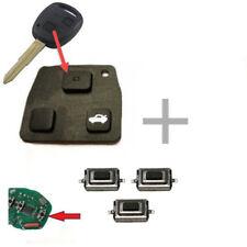 1x für Toyota Funkschlüssel Autoschlüssel Tastenfeld Gummi + 3x Mikrotaster