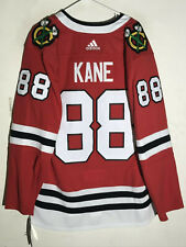 adidas Authentic Adizero  NHL Jersey Chicago Blackhawks Patrick Kane Red sz 50