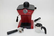 Oster Steam Espresso Maker Red Red Bvstem BVSTEM4188