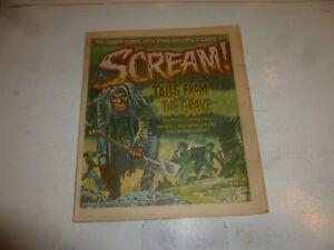 SCREAM! Comic - Issue 4 - Date 14/04/1984 - UK Paper Comic