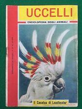 UCCELLI Enciclopedia degli animali , Suppl. Intrepido n.27/1962