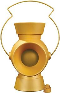 DC Collectibles 1:1 Scale Yellow Lantern Power Battery & Ring Prop NEW