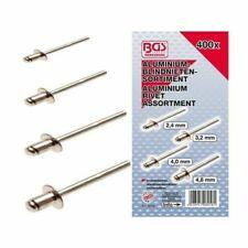 BGS 8058 Assortiment de Rivets Pop en Aluminium 2,4 - 4,8 mm - 400 Pièces