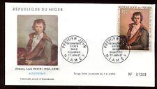 Niger - Enveloppe FDC 1967 - Oeuvre de David - O 295