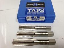 "3Pc Hanson Whitney 11/16"" -11 Plug Bottom TAPS 7649 GH-3 GH3 4 Flute 11/16-11"