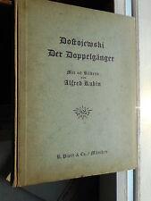 Dostojewski Der Doppelgänger mit 60 Bildern von Alfred Kubin, R. Piper 1922