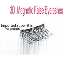 3D Magnetic False Eyelashes Natural Eye Lashes Extension 4 Pcs/1 Pair Handmade