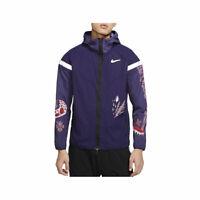 Nike Men's Windrunner Wild Run Running Jacket Purple CJ5820-521