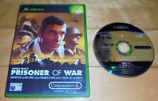 ORIGINAL XBOX PRISONER OF WAR - GREAT WORLD WAR II THIRD-PERSON STEALTH GAME