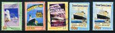 Australian 2004 Bon Voyage, 5 stamps, used