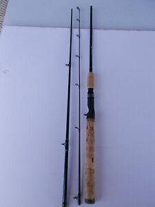 St. Croix Tidemaster  Travel TIC70MLF3 Casting Rod With Case