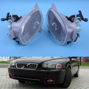 Left Right Front Bumper Fog Light Lamp fit for Volvo S80 1999-06 8620224 8620225