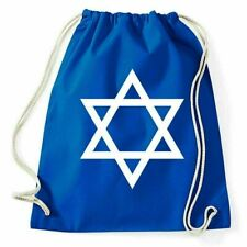 Flag Of Israel Turnbeutel Davidstern Sportbeutel Rucksack Flagge Fahne Zeichen