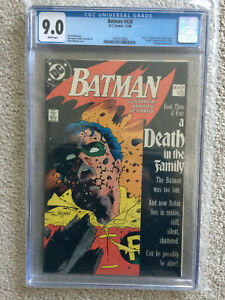 Batman #428 ([Holiday] 1988, DC) CGC 9.0