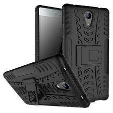 For Lenovo Phab 2 Case, Shockproof Armor Hybrid Kickstand Protective Phone Cover
