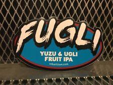 Oskar Blues Brewery Colorado NC ~ FUGLI Yuzu Ugli Obst IPA ~ Craft Bier Sticker
