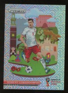 2018 Panini Prizm soccer Poland Landmark Mojo PRIZM Robert Lewandowski 16/25 SP