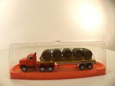 Guiloy Espagne camion FORD transport tonneaux neuf en boite MIB 1/64