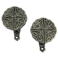 Celtic Knot Wall Mount Weapon Hooks Gun/Rifle/Bowie Knife/Sword/Cane Hanger Set