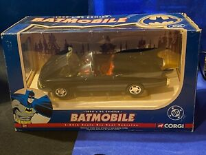 CORGI 77505 2005 - DC COMICS 1960 - THE BATMOBILE 1:24 - VGC