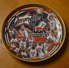 "Dream Team Ii Usa Basketball 8 1/2"" Plate 1598 / 5000 Sports Impressions 1994"
