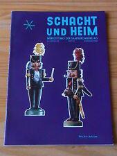 SCHACHT und HEIM Werkzeitung der Saarbergwerke Heft DEZEMBER 1963 *NEUWERTIG*