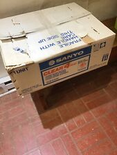 Sanyo Clear 4 Head Vcr 6400 Beta With Remote In Original Box Used