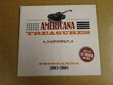 DIGIPACK CD / AMERICANA TREASURES SAMPLER - 2007-2008