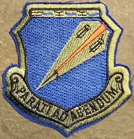 USAF AIR FORCE 131st BOMB WING : MO ANG WING SUBDUED PATCH VTG ORIGINAL MILITARY
