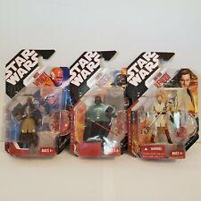 Star Wars Saga 30th Anniversary Collection lot - Darth Vader Obi-wan Mace Windu