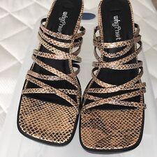 Women's shoes: Why?Not Open Shoe. Size 7