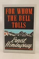 For Whom The Bell Tolls by Hemingway FEL/First Edition Library - No FEL on DJ
