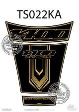 SUZUKI GSX 1400 réservoir Pad Noir / or (ts022ka)