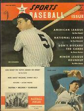1951 All Star Sports Baseball - DiMaggio/Kiner Cover