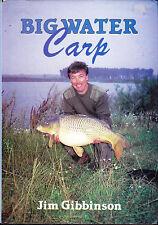 Knappe Big Wasser Karpfen Jim Gibbinson Angeln Buch 1989