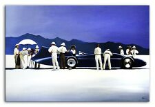Jack Vettriano - Bluebird -90x60cm Ölgemälde Handgemalt Leinwand Signiert G93619