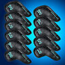 Golf Iron Pu Leather Head Covers USA Club Headcovers Set Fit Taylormade Callaway